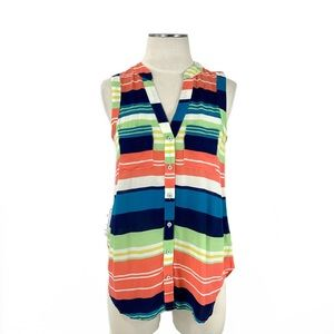 Anthropologie- Maeve Sunseeker Stripe Top Size 2